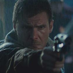 Harrison Ford in Blade Runner 2