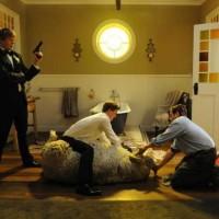 Tre uomini e una pecora