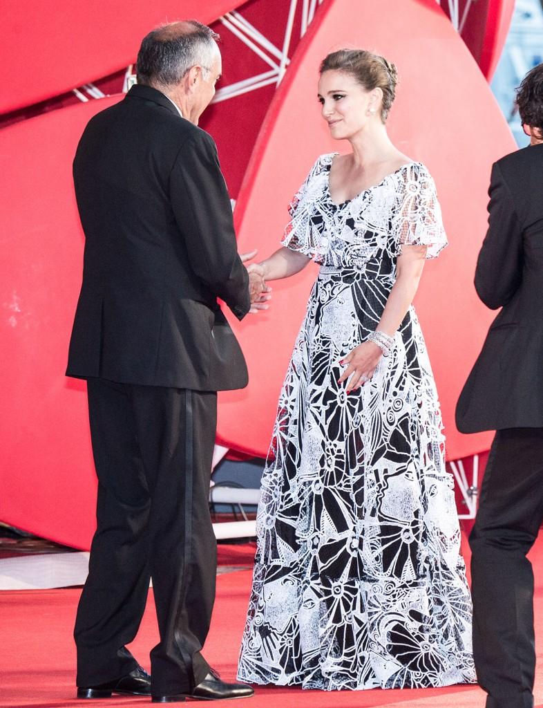 Natalie Portman e Alberto Barbera