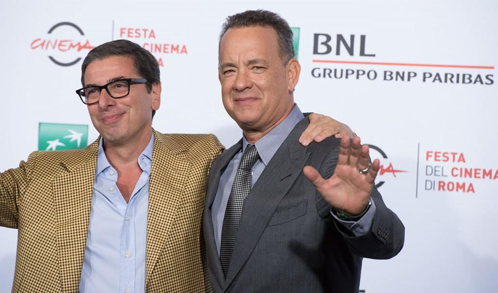 Tom Hanks e il direttore Antonio Monda