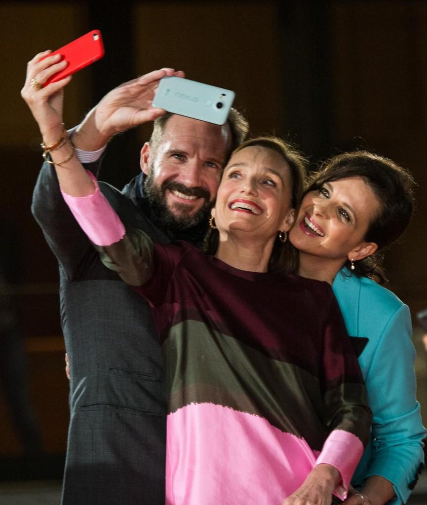 Juliette Binoche Christine Scott Thomas e Ralph Fiennes