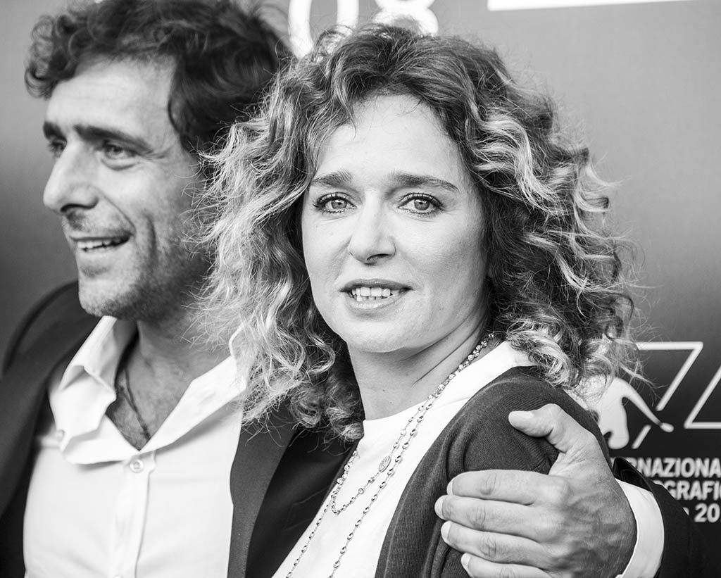 Valeria Golino e Adriano Giannini