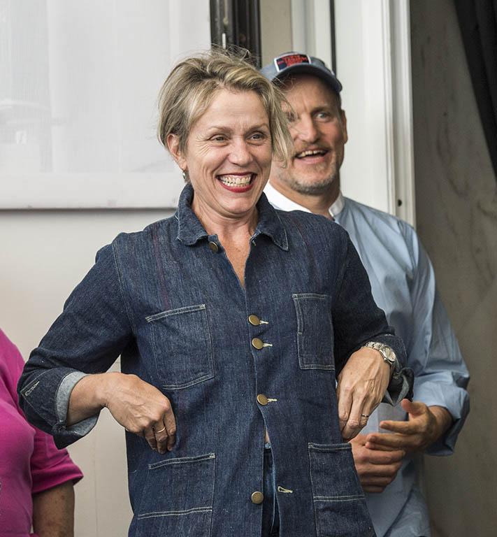 Frances McDormand e Woody Harrelson