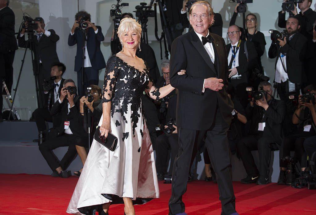 Donald Sutherland ed Helen Mirren