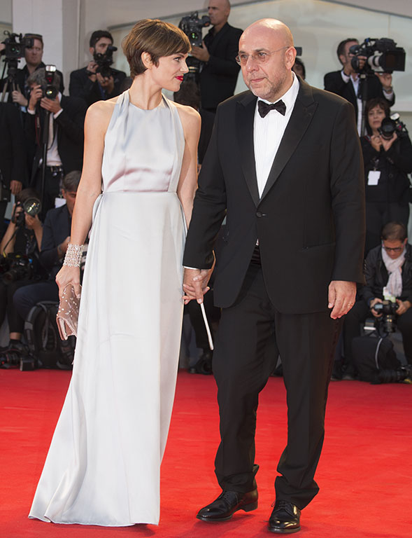 Paolo Virzi e la moglie Micaela Ramazzotti