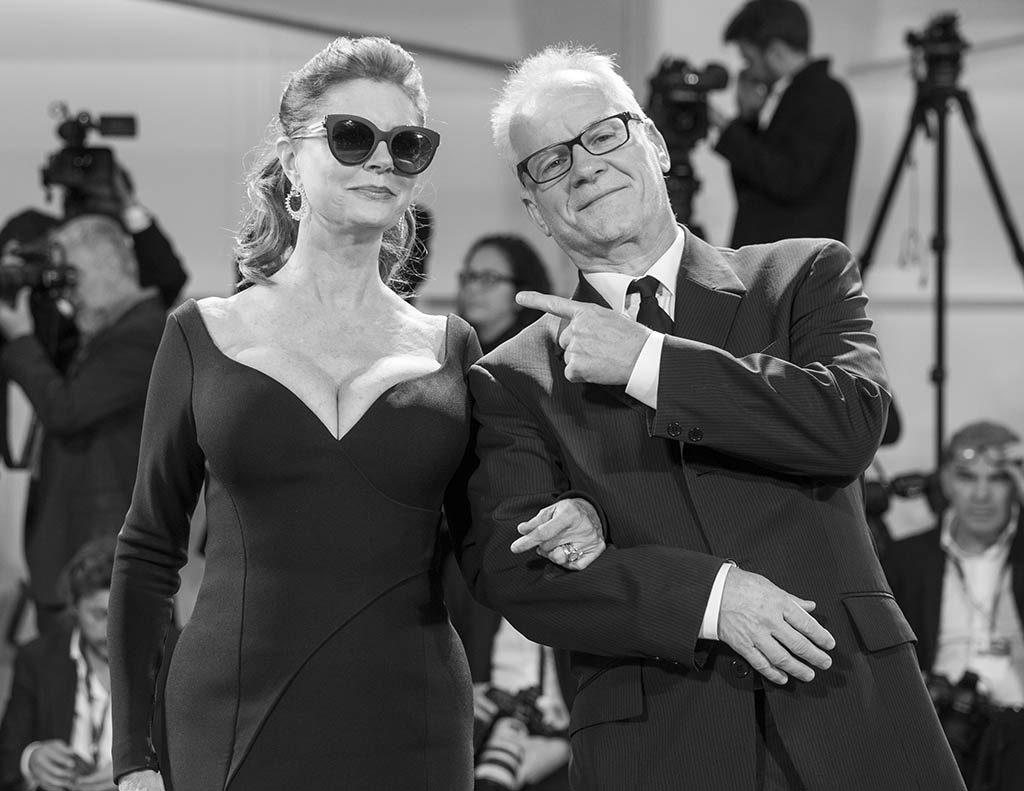 Susan Sarandon e Thierry Fremont