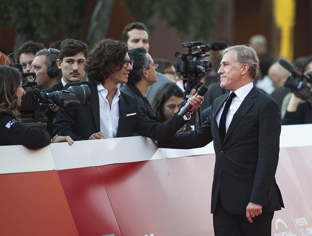 Il regista premio Oscar Cristoph Waltz