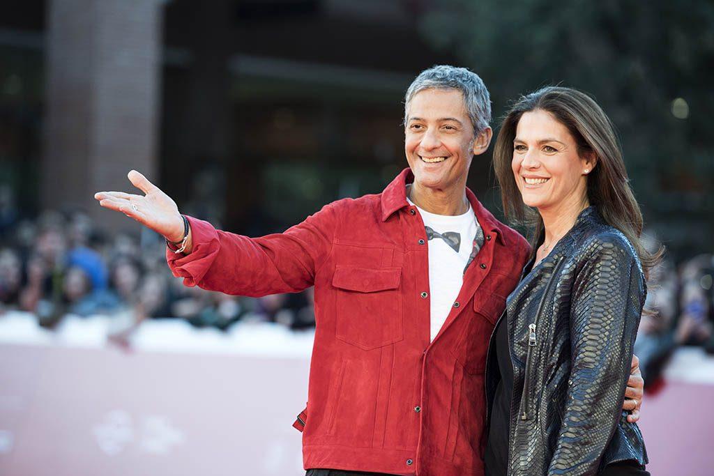 Rosario Fiorello e sua moglie Susanna
