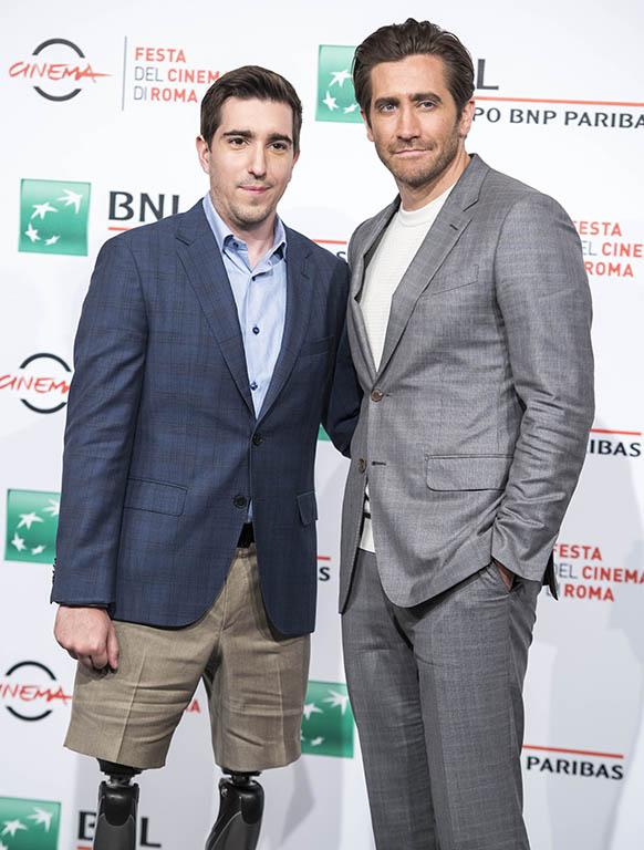 Jake Gyllenhaal e Jeff Bauman