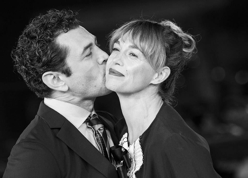 Vinicio Marchioni e sua moglie