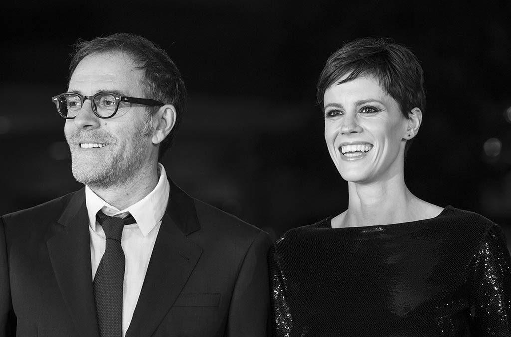Valerio Mastandrea e sua moglie