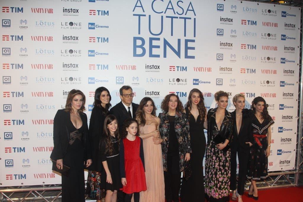 Il cast al femminile