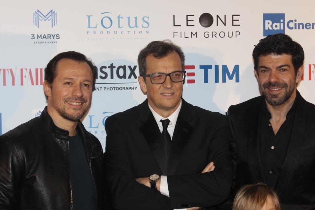 Stefano Accorsi_Gabriele Muccino_Pierfrancesco Favino