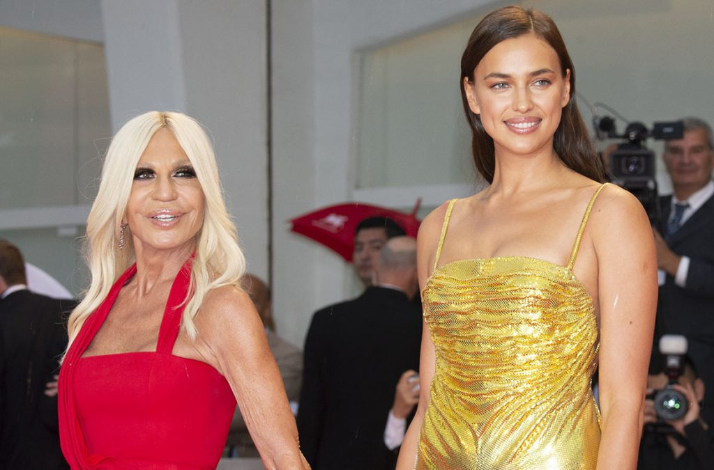 Donatella Versace e Irina