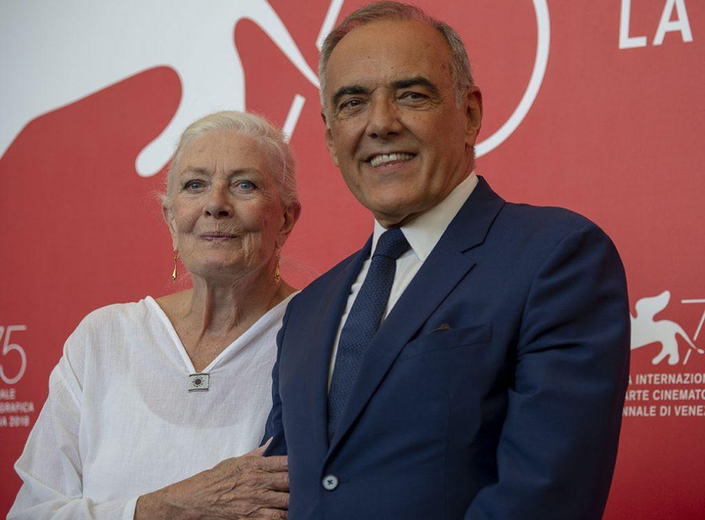 Vanessa Redgrave e Alberto Barbera