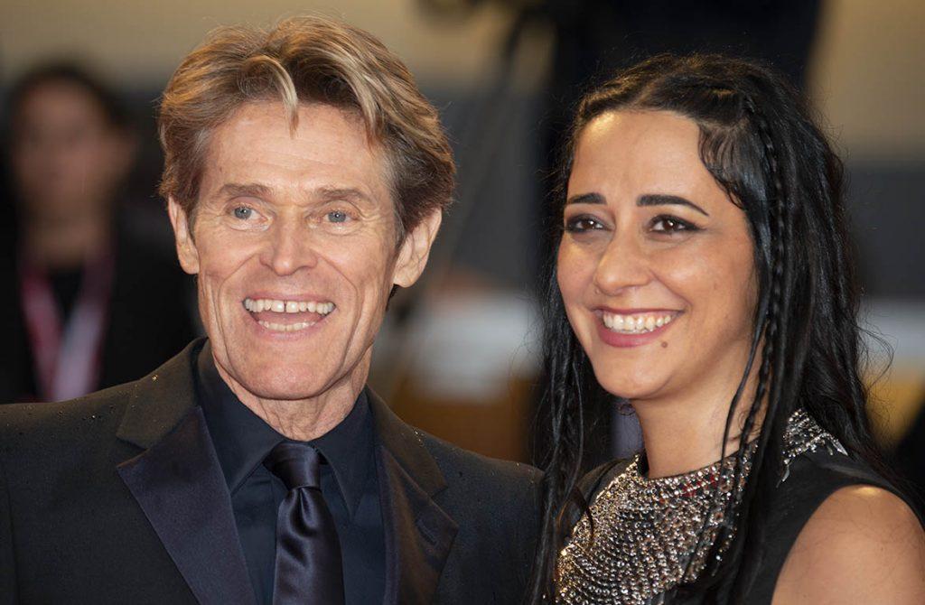 Willem Dafoe e sua moglie