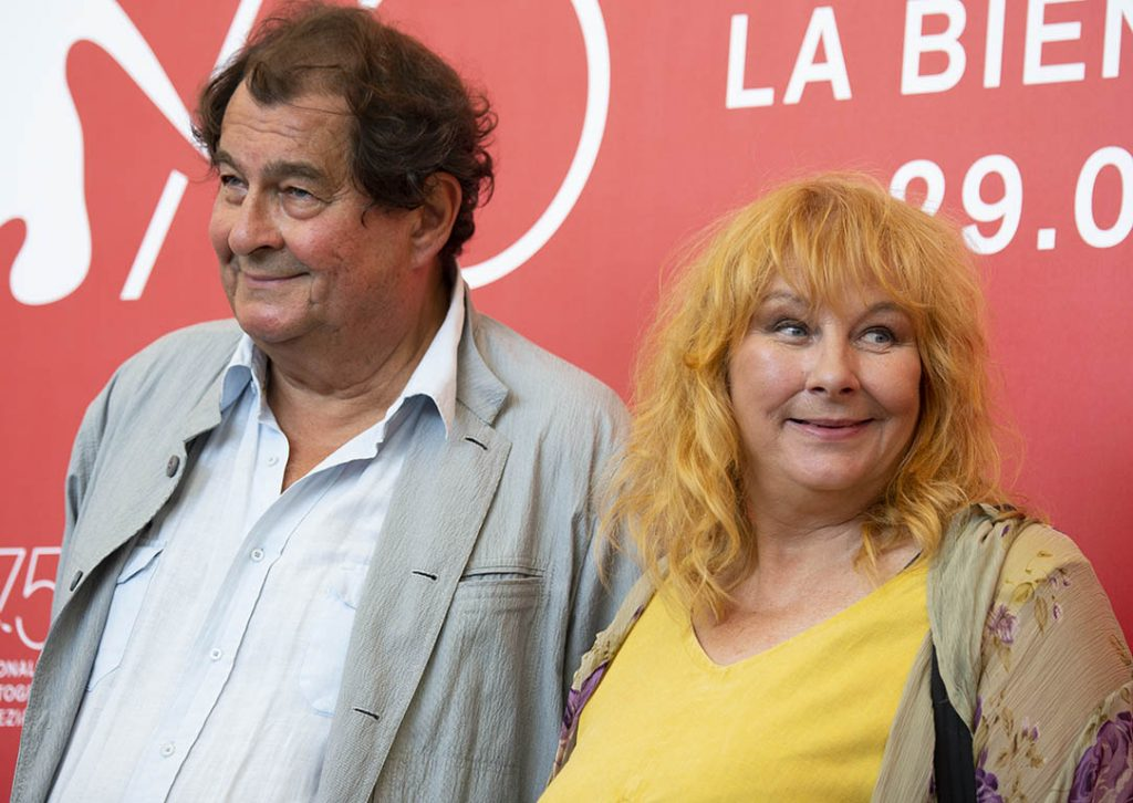 Bruno Raffaelli e Yolande Moreau