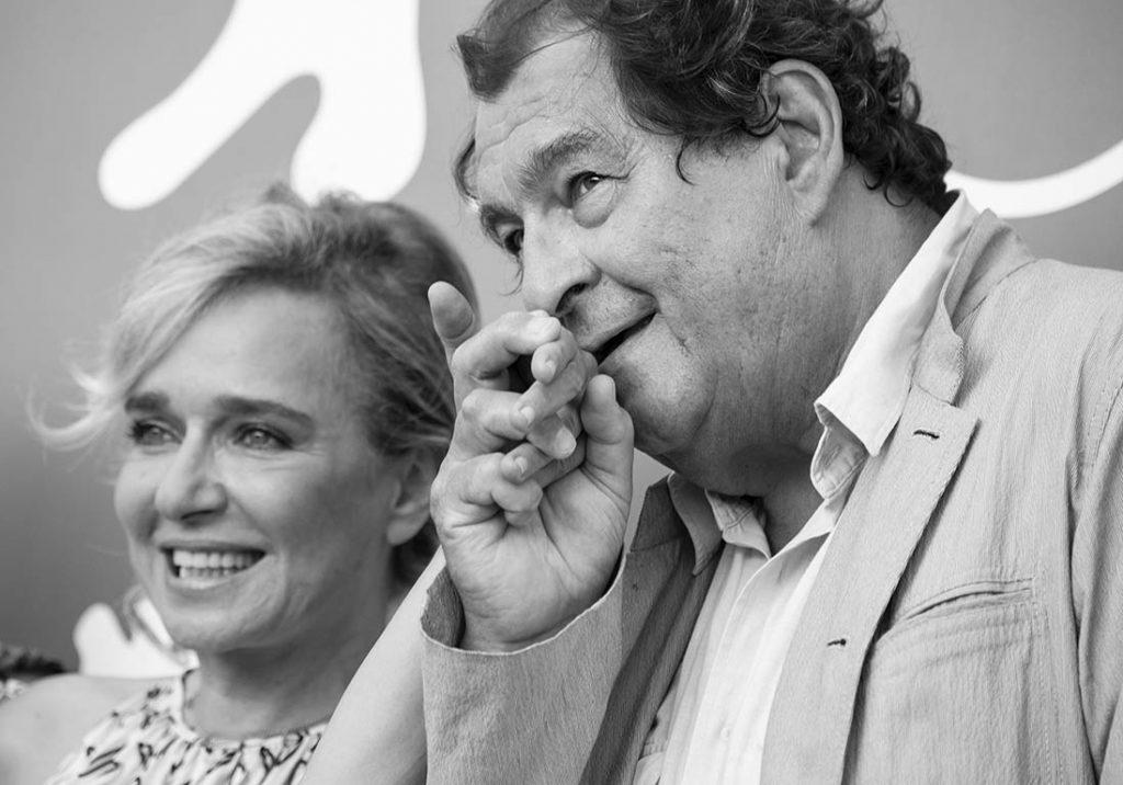 Valeria Golino e Bruno Raffaelli