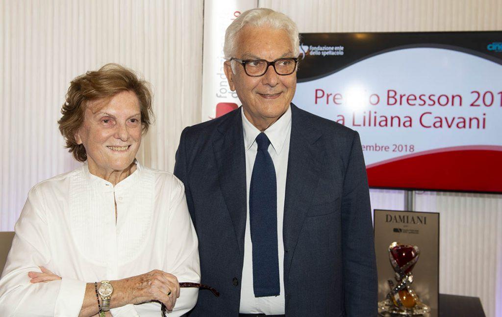 Paolo Baratta e Liliana Cavani