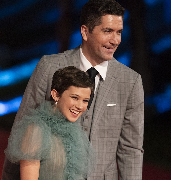 Drew Goddard e Cailee Spaney