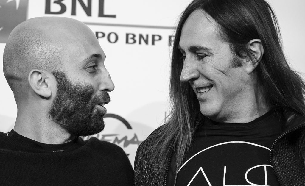 Manuel Agnelli e Giorgio Testi