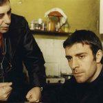 Claudio Caligari e Valerio Mastandrea sul set de L'odore della notte