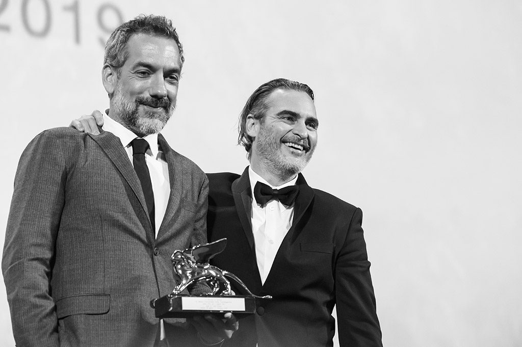 Todd Phillips e Joaquin Phoenix