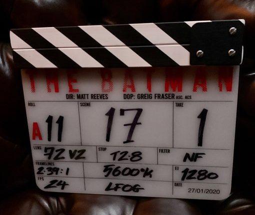 Ciak per The Batman