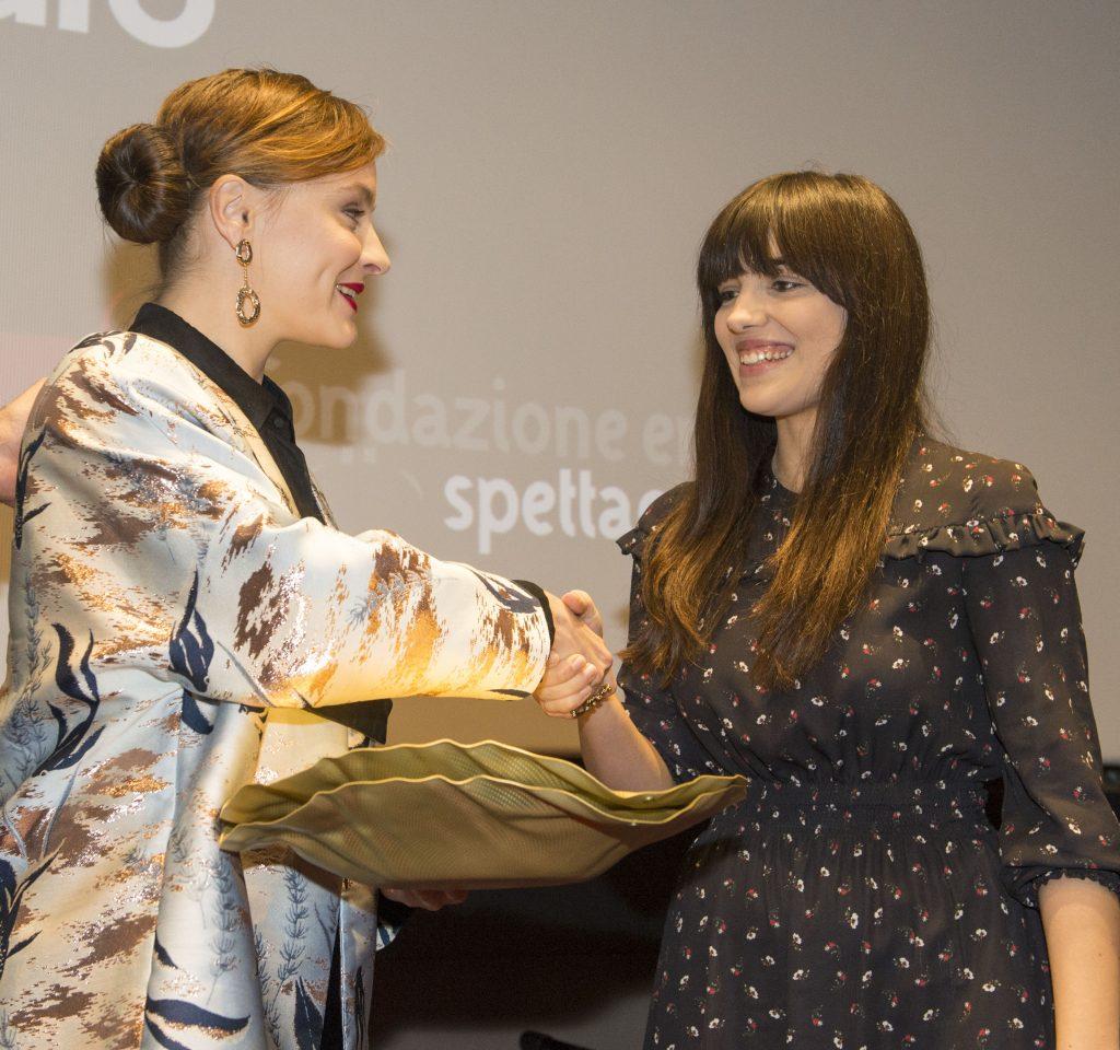 Maria Roveran premia Selene Caramazza