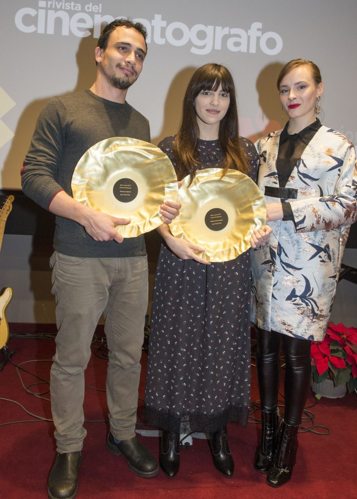 Simone Liberati, Selene Caramazza e Maria Roveran