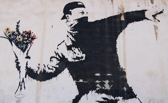 Banksy in sala