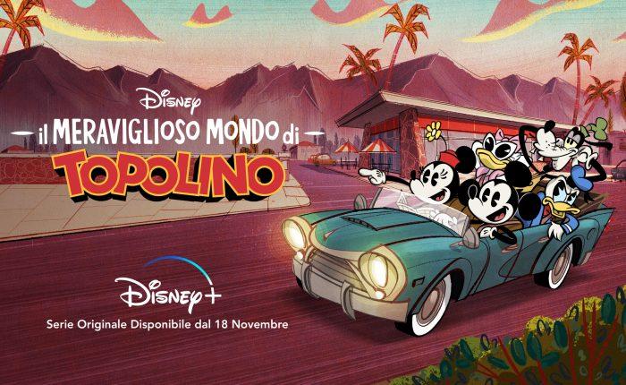 Il meraviglioso mondo di Topolino su Disney+