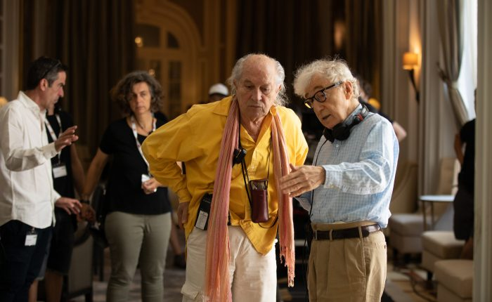 Woody Allen in sala