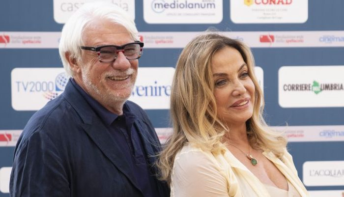 Simona Izzo e Ricky Tognazzi, tra casa e set