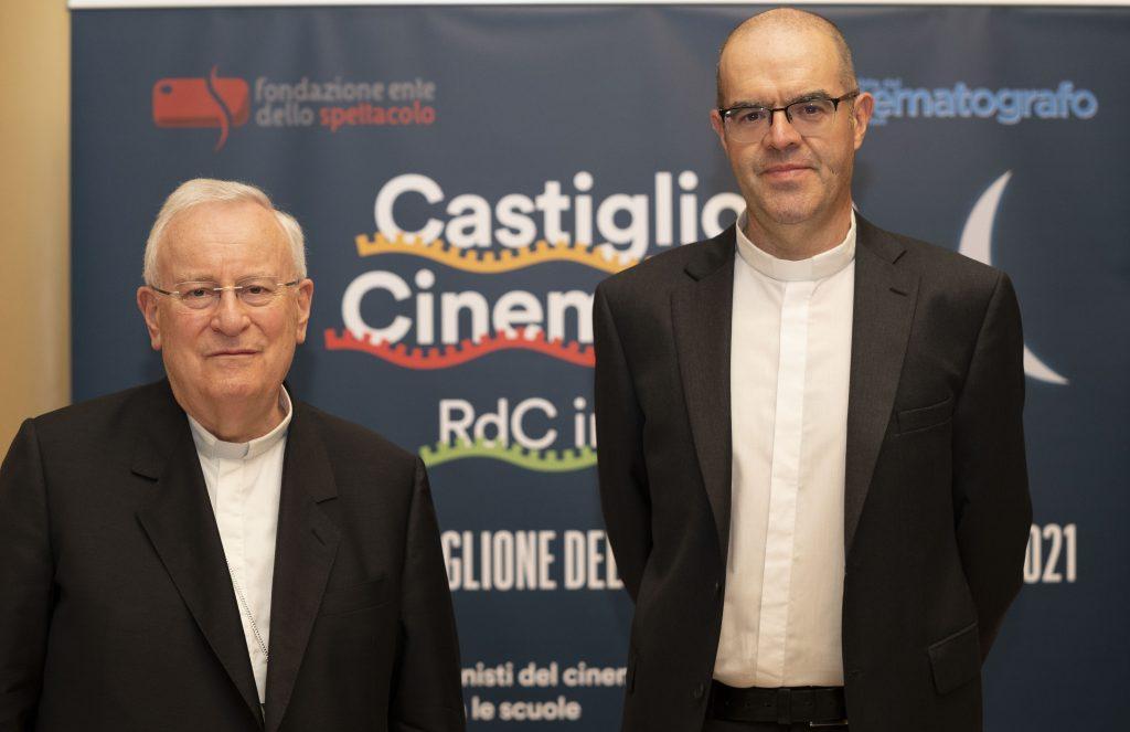S.E. Gualtiero Bassetti e mons. Davide Milani (foto di Karen Di Paola)