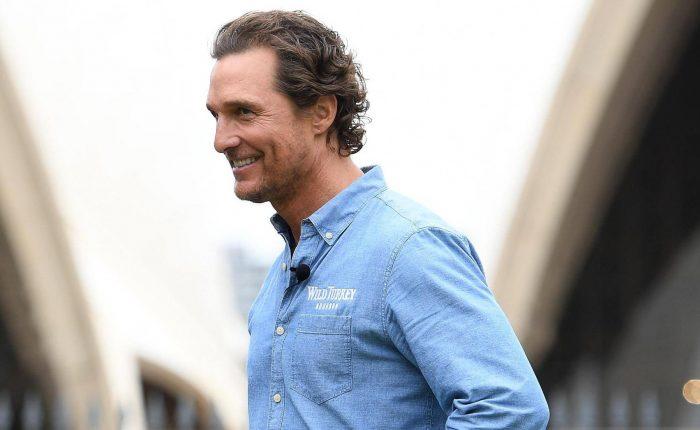 Matthew McConaughey a Movie Mag